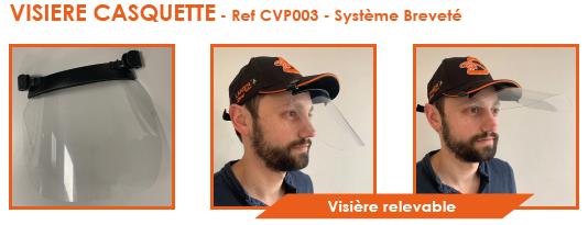CV PACK - Visière casquette